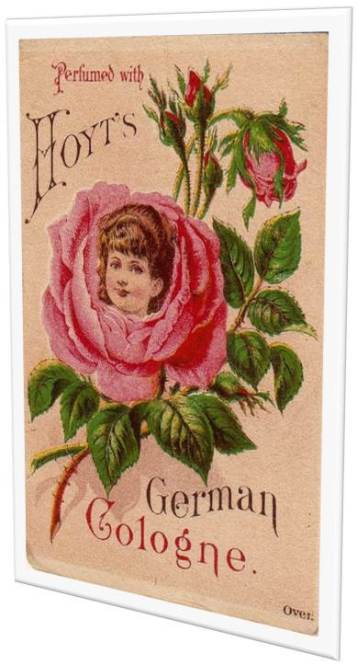 Vintage Rose German Cologne