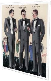 Vintage Tuxedo ad