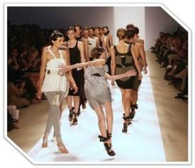 Fashion model trips