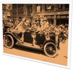 08-18-1920 Suffrage parade New York City