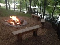 Old Hickory Lake campfire