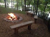 Old Hickory Lake campfire