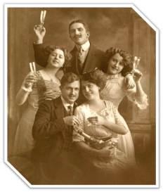 1916 Toasting