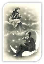 1920s Paper Moon Couple