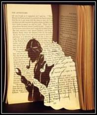 Book Cut Out Holmes