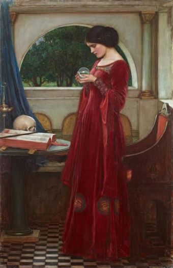 Crystal Ball by John William Waterhouse (1849-1917)