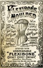 Flexibone corset ad