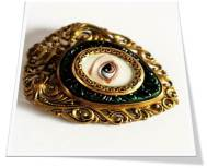Lovers Eye Brooch