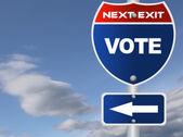 Sign Vote Exit