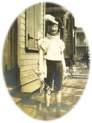 1903 Mardi Gras man