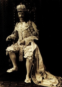 Mardi Gras King, Dave Hennan, March 7, 1905