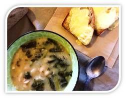 Cannellini Bean Kale Bacon Soup