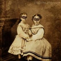 Masked Victorian Girls
