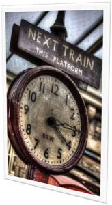 Next Train-Clock