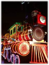 Orpheus Smoky Mary float Mardi Gras