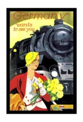 Train ad Germany