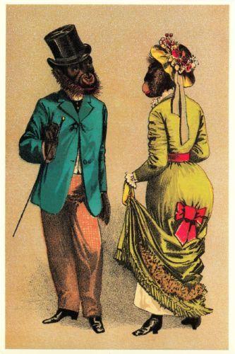 Victorian Ape Couple