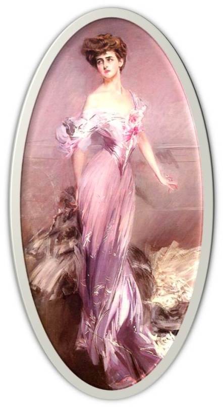 mauve Dolly Baird of Bunbarton 1906