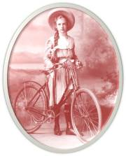 mauve Girl Bicycle