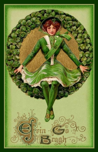St Patricks Day Vintage