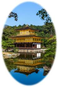 Kinkaku-ji, The Golden Pavilion, Kyoto City, Japan