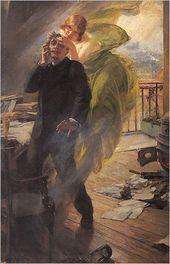 "Albert Maignan's ""Green Muse"" 1895"