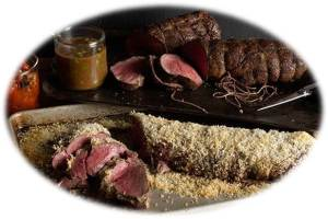 Porcini-Crusted Beef