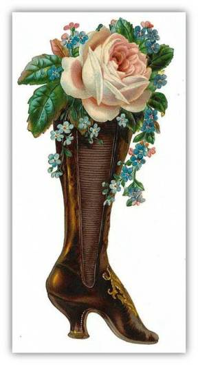 Victorian boot right