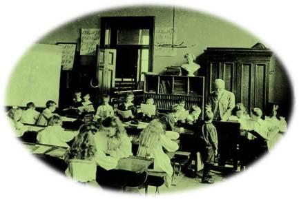 Victorian schoolroom