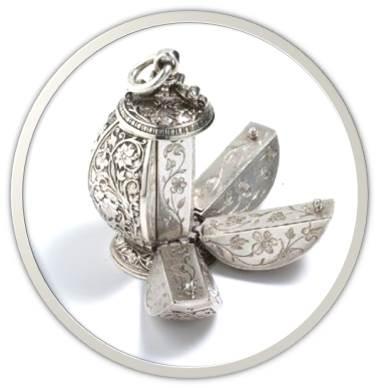 silver vinaigrette