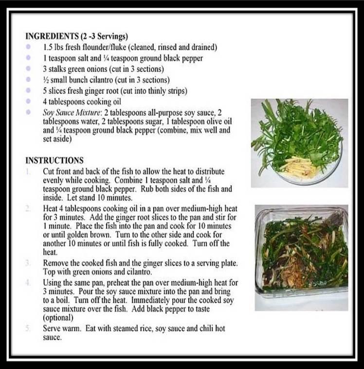 Fish n Herbs in Soy Sauce