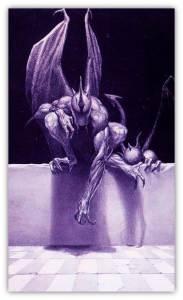 Michael Whelan Dragon purple