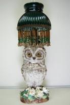 Owl Lamp Victorian