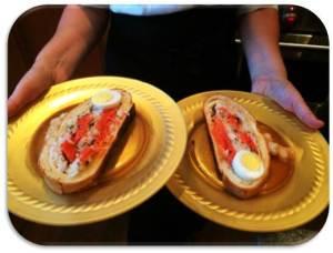 Salmon Koulibiac