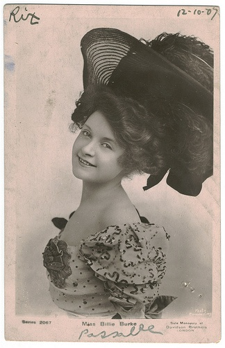 Billie Berk circa 1900