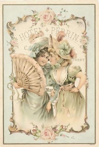Victorian girls whisper_Hotel Perrin
