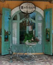 Antique store front