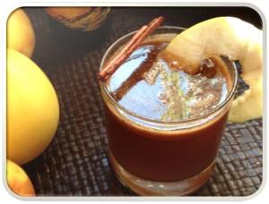 Hot buttered spiced cider