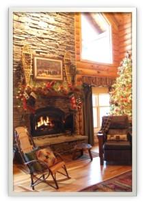 Lous House Inside Fireplace