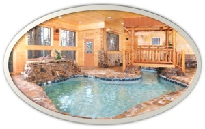 Lous House Inside Pool