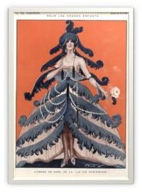 1925 La Vie Parisienne Christmas
