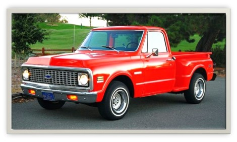 1972 Chevy C10 Shortbed Stepside Pickup