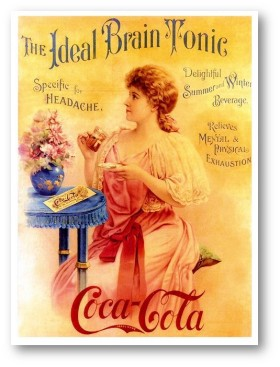 Brain tonic Coke vintage