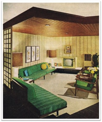 1960s Harper living room