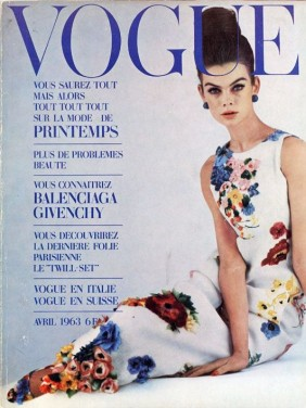 1963 Vogue Jean Shrimpton