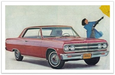 1965 Chevrolet Malibu ad