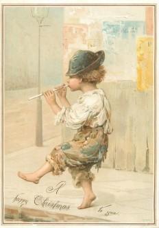 Boy Flute vintage