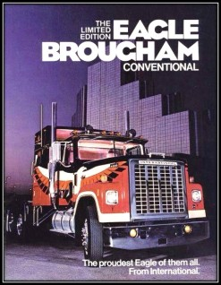 Semi truck ad
