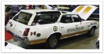 1972 Vista Cruiser pace car