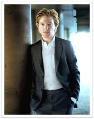 Domhnall Gleeson suit